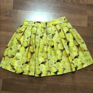 Alice + Olivia Skirts - Alice + Olivia lemon print skirt